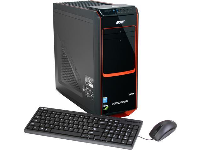 Acer Desktop PC Predator AG3-605-UR20 (DT.SPXAA.001) Intel Core i7 4770 (3.40 GHz) 32 GB DDR3 3TB HDD + 24GB SSD HDD NVIDIA GeForce GTX 660 1.5GB Windows 8
