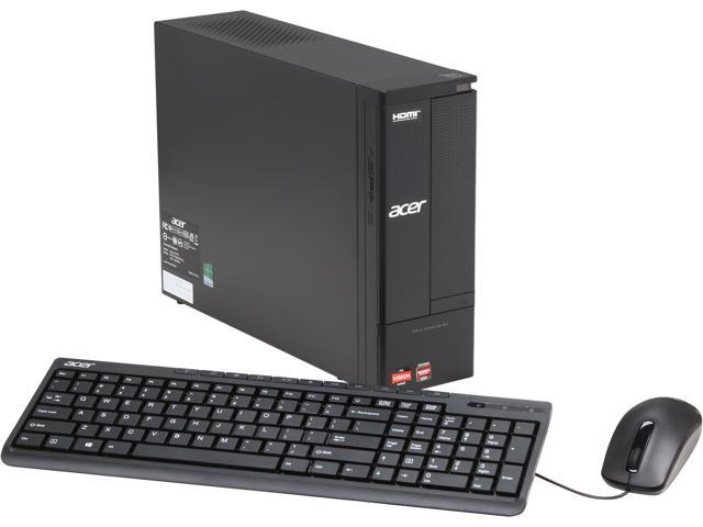 Acer Desktop PC Aspire X AX1470-UR26 (DT.SLQAA.004) A6-Series APU A6-3620 (2.2 GHz) 4 GB DDR3 500 GB HDD AMD Radeon HD 6530D Windows 8 64-Bit