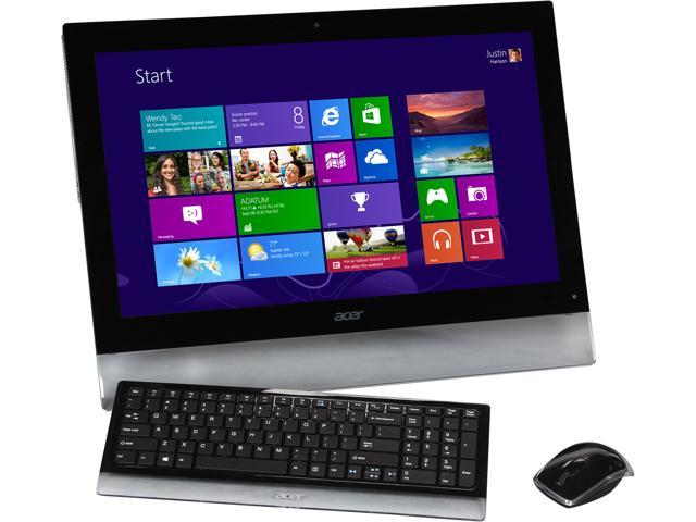 Acer All-In-One PC A5600U-UB308 (DQ.SMXAA.002) Intel Core i5 3210M (2.50 GHz) 6 GB DDR3 1 TB HDD 23""