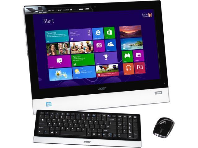 Acer All-in-One PC A5600U-UB26 Intel Core i3 3120M (2.50 GHz) 6 GB DDR3 1 TB HDD 23