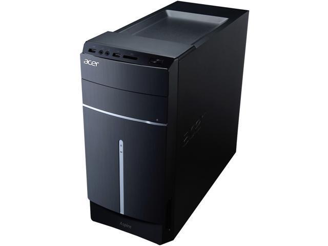 Acer Desktop PC Aspire T ATC-605-UR18 Intel Core i7 4770 (3.40 GHz) 8 GB DDR3 1 TB HDD Windows 8.1 64-Bit