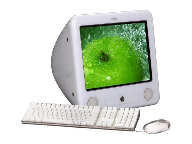 "Apple All-in-One PC eMac A1002 PowerPC G4 1.42 GHz 512 MB DDR 80 GB HDD 17"" Mac OS X v10.5 Leopard"