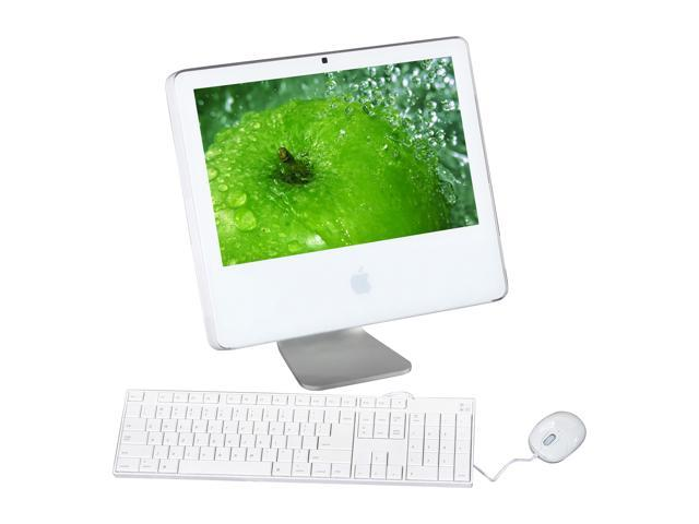 "Apple All-in-One iMac G5 w/ iSight MA406LL/A Core Duo T2400 (1.83 GHz) 512 MB DDR2 80 GB HDD 17"" Mac OS X 10.4 Tiger"
