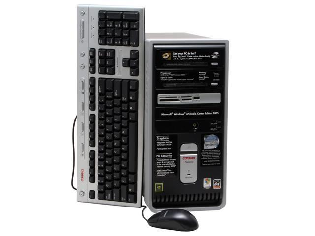 COMPAQ Desktop PC Presario SR1950NX(EX325AA#ABA) Athlon 3800+ (2.00 GHz) 1 GB DDR 250 GB HDD Windows XP Media Center