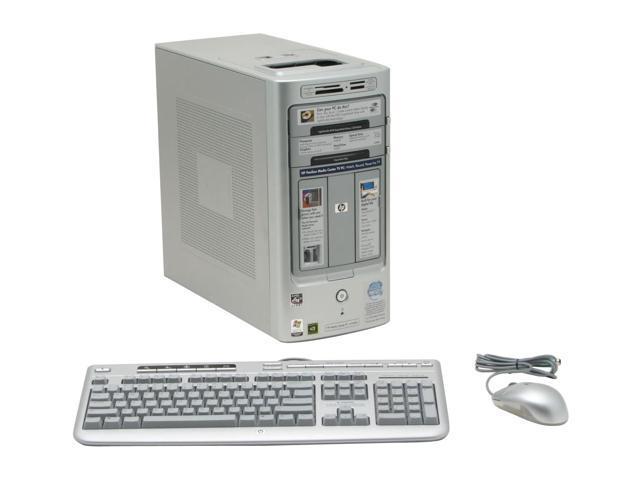HP Desktop PC Pavilion m7640n(RF243AA) Athlon 64 X2 5000+ 2 GB DDR2 320 GB HDD NVIDIA GeForce 6150 LE Windows XP Media Center