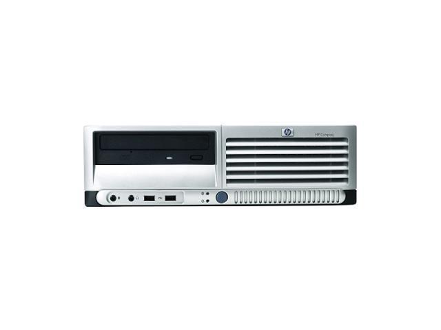 HP Compaq Desktop PC dc7700(EN341UT#ABA) Core 2 Duo E6300 (1.86 GHz) 1 GB DDR2 160 GB HDD Intel GMA 3000 Windows XP Professional