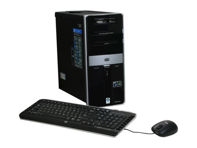 HP Desktop PC Pavilion M9350F(KQ498AA) Phenom X4 9850 (2.5 GHz) 6 GB DDR2 750 GB HDD Windows Vista Home Premium 64-bit