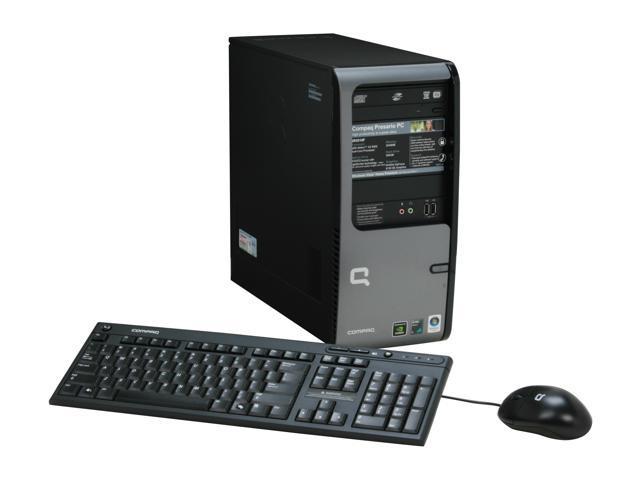 COMPAQ Desktop PC Presario SR5510F(KQ513AA) Athlon 64 X2 5000+ 2 GB DDR2 500 GB HDD NVIDIA GeForce 6150 SE Windows Vista Home Premium