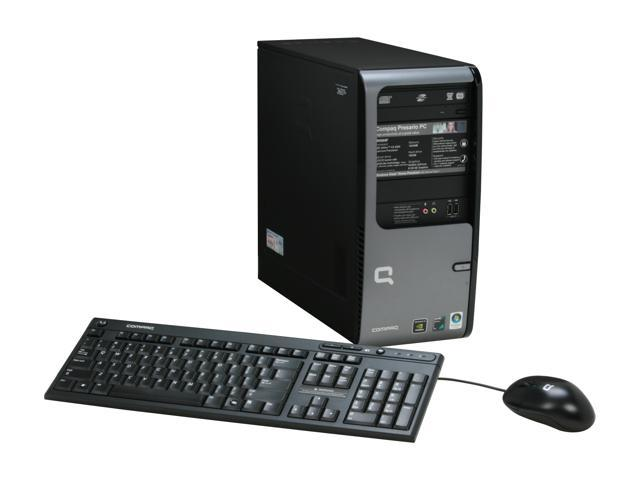 COMPAQ Desktop PC Presario SR5505F(KT526AA) Athlon 64 X2 4200+ 1 GB DDR2 160 GB HDD NVIDIA GeForce 6150 SE Windows Vista Home Premium