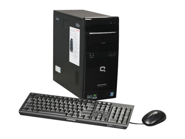 COMPAQ Desktop PC Presario CQ5300F(AY026AA#ABA) Sempron LE-1300 (2.3 GHz) 2 GB DDR2 320 GB HDD Windows 7 Home Premium 64-bit