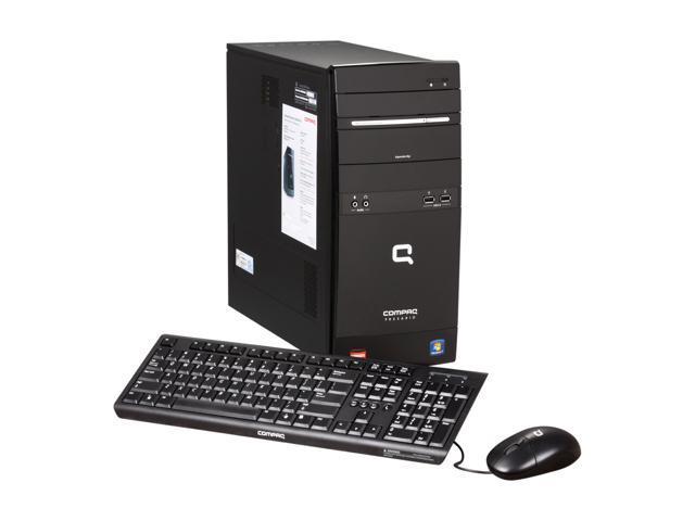 COMPAQ Desktop PC Presario CQ5720F (BV526AA#ABA) Athlon II X2 245 (2.9 GHz) 3 GB DDR3 640 GB HDD ATI Radeon 3000 IGP Windows 7 Home Premium 64-bit