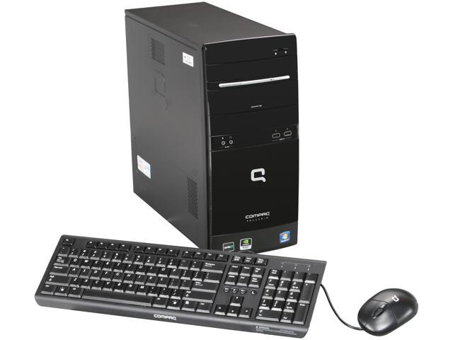 COMPAQ Desktop PC Presario CQ5600f (BM411AAR#ABA) Athlon II 170u (2.0 GHz) 2 GB DDR2 500 GB HDD NVIDIA GeForce 6150 SE Windows 7 Home Premium 64-bit