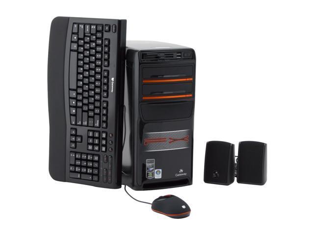Gateway Desktop PC FX7020 Phenom X4 9600 (2.3 GHz) 3 GB DDR2 500 GB HDD Windows Vista Home Premium
