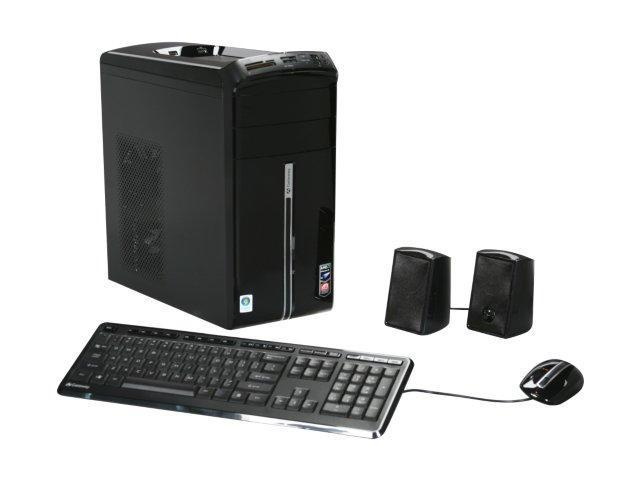 Gateway Desktop PC DX Series DX4300-01 Phenom II X4 810 (2.6 GHz) 8 GB DDR2 1 TB HDD Windows Vista Home Premium 64-bit