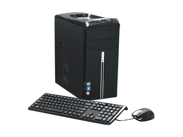 Gateway Desktop PC DX Series DX4320-19 Phenom II X6 1035T (2.6 GHz) 8 GB DDR3 1.5 TB HDD Windows 7 Home Premium 64-bit