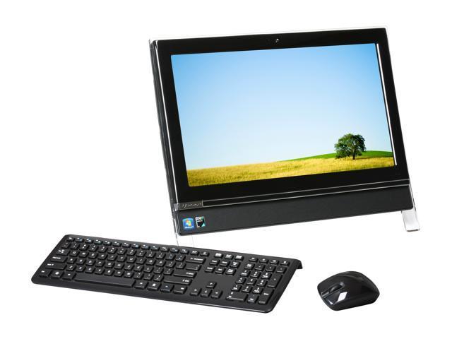 "Gateway All-in-One PC One ZX4300-31 Athlon II X2 240e (2.8 GHz) 4 GB DDR3 320 GB HDD 20"" Touchscreen Windows 7 Home Premium ..."