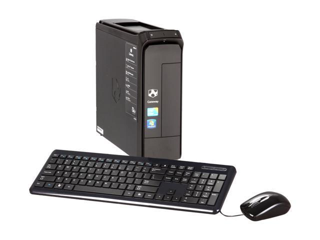 Gateway Desktop PC SX2851-41 (PT.GBR02.003) Intel Core i3 550 (3.20 GHz) 4 GB DDR3 1 TB HDD Windows 7 Home Premium 64-bit