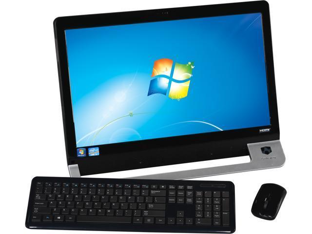"""Gateway All-In-One PC ZX4971G-UW20P (DO.GDUAA.001) Intel Core i3 2120 (3.30 GHz) 6 GB DDR3 1 TB HDD 21.5"""" Windows 7 Home ..."""