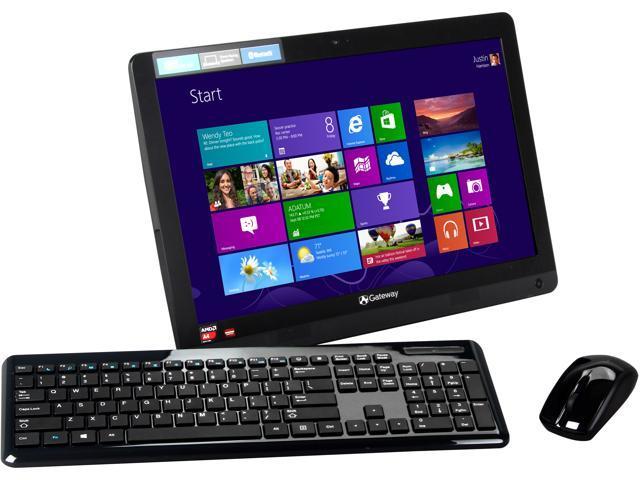"""Gateway All-in-One PC One ZX4270-UB14 (DQ.GETAA.003) A4-Series APU A4-5000 (1.5 GHz) 4 GB DDR3 500 GB HDD 19.5"""" Windows 8.1"""