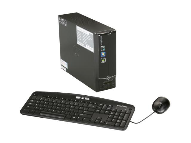 eMachines Desktop PC EL1352-03 Athlon II X2 240 (2.8 GHz) 4 GB DDR3 500 GB HDD Windows 7 Home Premium 64-bit