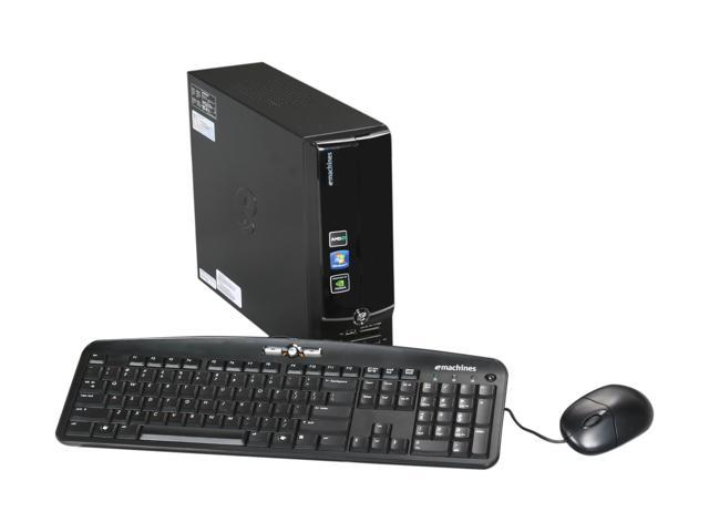 eMachines Desktop PC EL1352-07E (L-PT.NC902.004) Athlon II X2 220 (2.80 GHz) 4 GB DDR3 500 GB HDD Windows 7 Home Premium