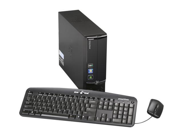 eMachines Desktop PC EL1358-53 Athlon II X2 220 (2.80 GHz) 3 GB DDR3 1 TB HDD Windows 7 Home Premium 64-bit