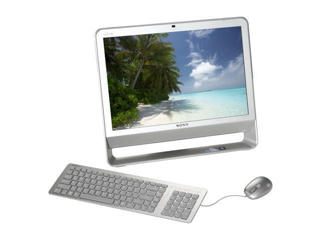 "Sony Desktop PC VAIO VGC-JS410F/S Pentium Dual Core E5400 (2.70 GHz) 4 GB DDR2 320 GB HDD 20.1"" Windows 7 Home Premium 64-bit"