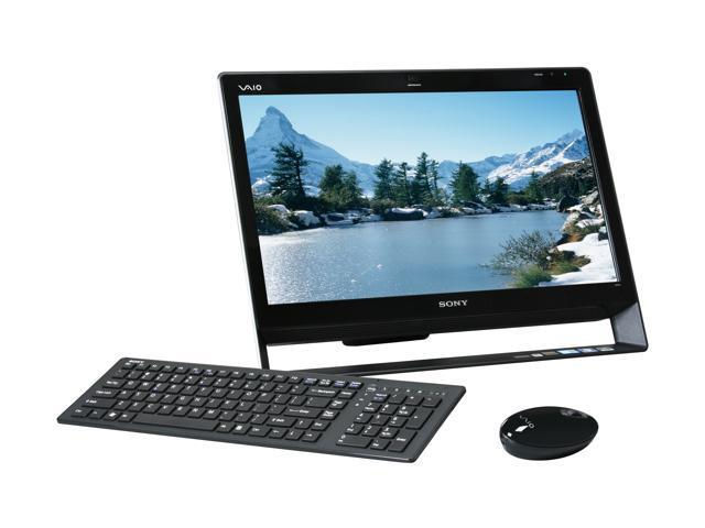 Sony Desktop PC VAIO J Series VPCJ118FX/B Intel Core i7 620M (2.66 GHz) 6 GB DDR3 500 GB HDD 21.5
