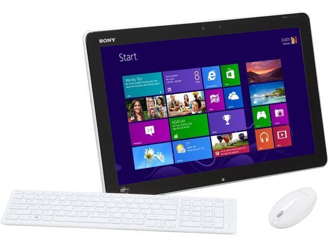 Sony All-in-One PC VAIO J Series SVJ20237CXW Intel Core i7 3537U (2.00 GHz) 8 GB DDR3 1 TB HDD 20