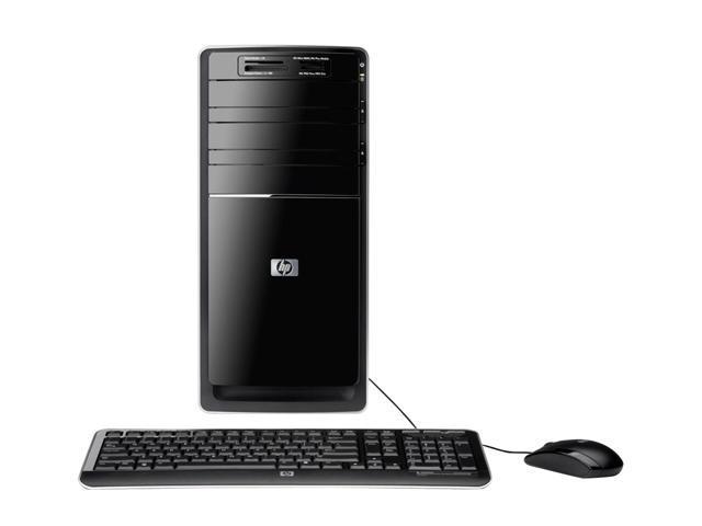 HP Desktop PC Pavilion P6230F (NY548AA#ABA) Phenom II X4 810 (2.6 GHz) 8 GB DDR3 750 GB HDD ATI Radeon HD 4200 Windows 7 Home Premium 64-bit