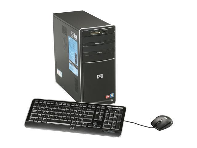 HP Desktop PC Pavilion P6620F (BM419AA#ABA) Phenom II X4 820 (2.8 GHz) 6 GB DDR3 1 TB HDD Windows 7 Home Premium 64-bit