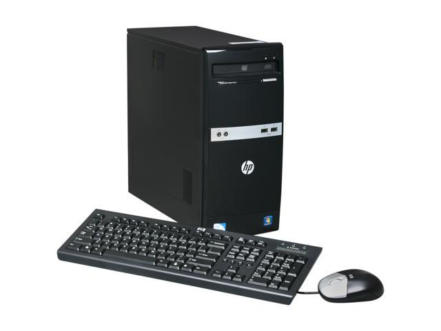 HP Desktop PC 500B (VS875UT#ABA) Pentium Dual Core E5700 (3.00 GHz) 1 GB DDR3 160 GB HDD Windows 7 Professional 32-bit