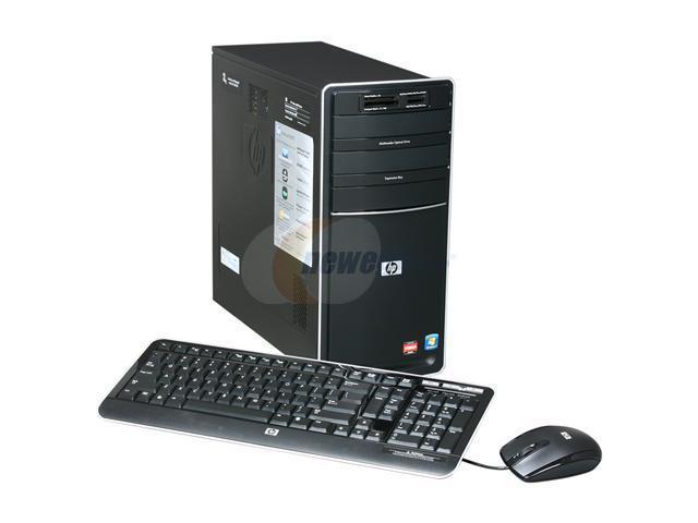 HP Desktop PC Pavilion p6720f (BV532AA#ABA) Phenom II X4 840T (2.9 GHz) 6 GB DDR3 1 TB HDD ATI Radeon HD 4200 Windows 7 Home Premium 64-bit