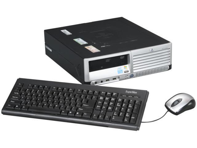 HP Compaq Desktop PC DC7600 Pentium 4 3.2 GHz 2 GB DDR2 400 GB HDD Windows XP Professional