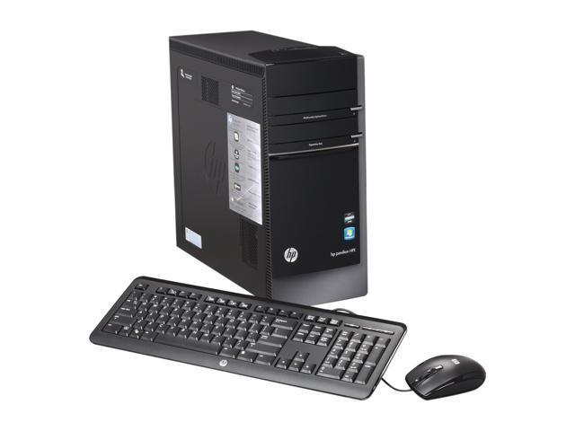 HP Desktop PC Pavilion Elite h8-1039 (QU123AA#ABA) Phenom II X6 1065T (2.9 GHz) 8 GB DDR3 1 TB HDD Windows 7 Home Premium ...