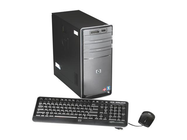 HP Desktop PC Pavilion P6787C (BV599AAR#ABA) Phenom II X4 840T (2.9 GHz) 8GB 1.5 TB HDD AMD Radeon HD 6450 Windows 7 Home Premium 64-Bit