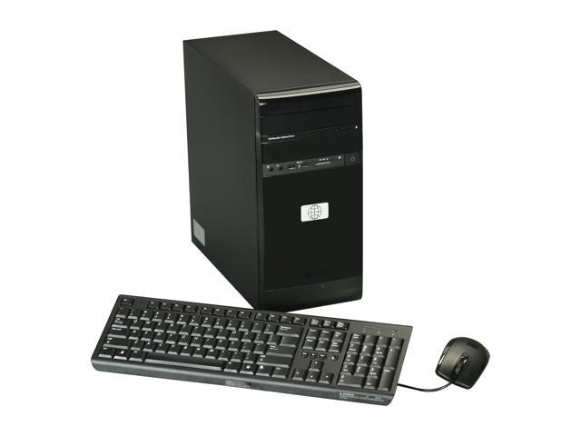 Famous Brand Desktop PC TS-2P-AMD1011 AMD Dual-Core Processor E-300 (1.3 GHz) 2GB 500 GB HDD No OS