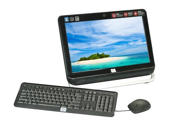 "Famous Brand All-in-One PC CPX-125 AMD Dual-Core Processor E-450 (1.65 GHz) 4GB 1 TB HDD 20"" Windows 7 Professional English"
