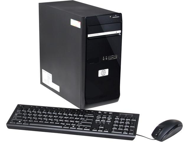 Famous Brand Desktop PC TS-T0232-6P-W8EN Pentium G645 (2.90 GHz) 4 GB DDR3 500 GB HDD Windows 8