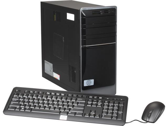Famous Brand Desktop PC TS-4511-7P-W8EN A6-Series APU A6-3600 (2.1 GHz) 4 GB DDR3 1 TB HDD Windows 8