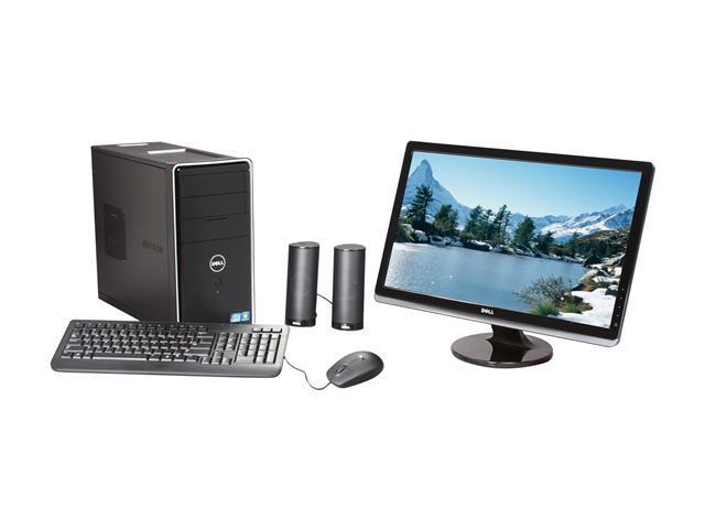 DELL Desktop PC Inspiron i620-6284NBK Intel Core i3 2120 (3.30 GHz) 6 GB DDR3 1 TB HDD Windows 7 Home Premium 64-bit