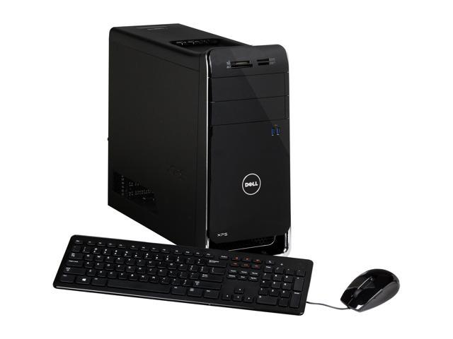 DELL Desktop PC XPS XPS 8500 (X8500-1058BK) Intel Core i5 3350P (3.10 GHz) 8 GB DDR3 1 TB HDD AMD Radeon HD 7570 1GB Windows 8