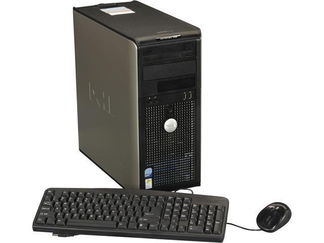 DELL Desktop PC OptiPlex DTDEOP755-MT5 Core 2 Duo 2.0 GHz 2GB 80 GB HDD Windows 7 Home Premium 64-Bit