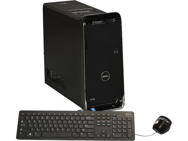 DELL Desktop PC XPS X8700-625BLK Intel Core i5 4430 (3.00 GHz) 8 GB DDR3 1 TB HDD Windows 8