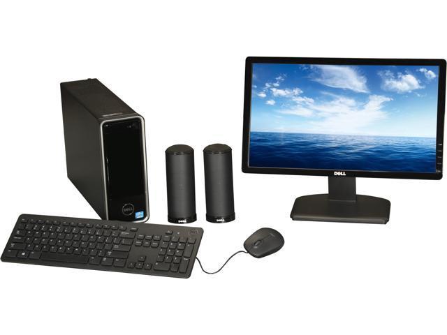 DELL Desktop PC Inspiron 660s (i660s-3856BK) Intel Core i3 3240 (3.40 GHz) 4 GB DDR3 1 TB HDD Windows 8