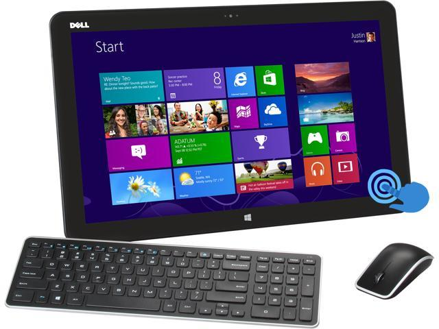 DELL All-in-One PC XPS 18 XPSo18-5910BLK Intel Core i5 3337U (1.80 GHz) 8 GB DDR3 500GB HDD + 32GB SSD HDD 18.4