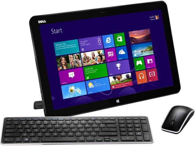 DELL All-in-One PC XPS 18 XPSo18-2727BLK Intel Core i3 3227U (1.90 GHz) 4 GB DDR3 500 GB HDD 18.4