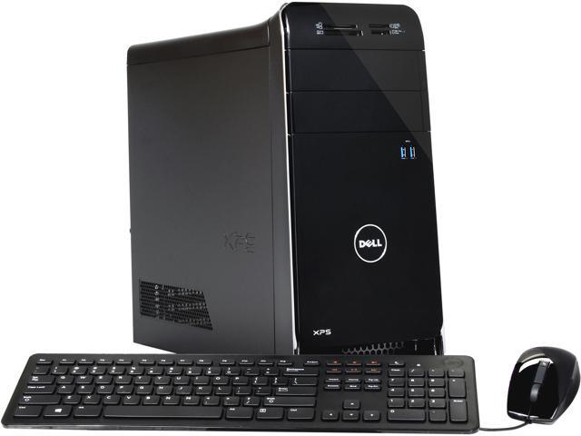 DELL Desktop PC XPS 8700 (X8700-626BLK) Intel Core i5 4440 (3.10 GHz) 8 GB DDR3 1 TB HDD NVIDIA GeForce GT 635 Windows 8