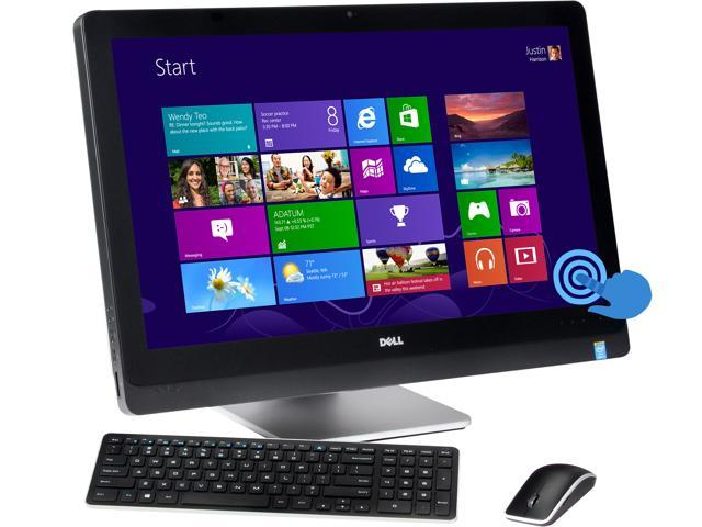 "DELL All-In-One PC XPS 2720 (XPSo27T-714BLK) Intel Core i5 4440s (2.80 GHz) 8 GB DDR3 1 TB HDD 27"" Touchscreen Windows 8"