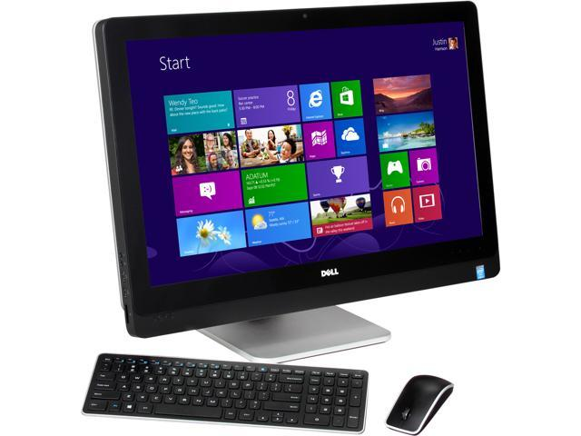 DELL All-in-One PC XPS 2720 XPSo27T-7143BLK Intel Core i7 4770S (3.10 GHz) 16 GB DDR3 2TB + 32GB SSD HDD 27